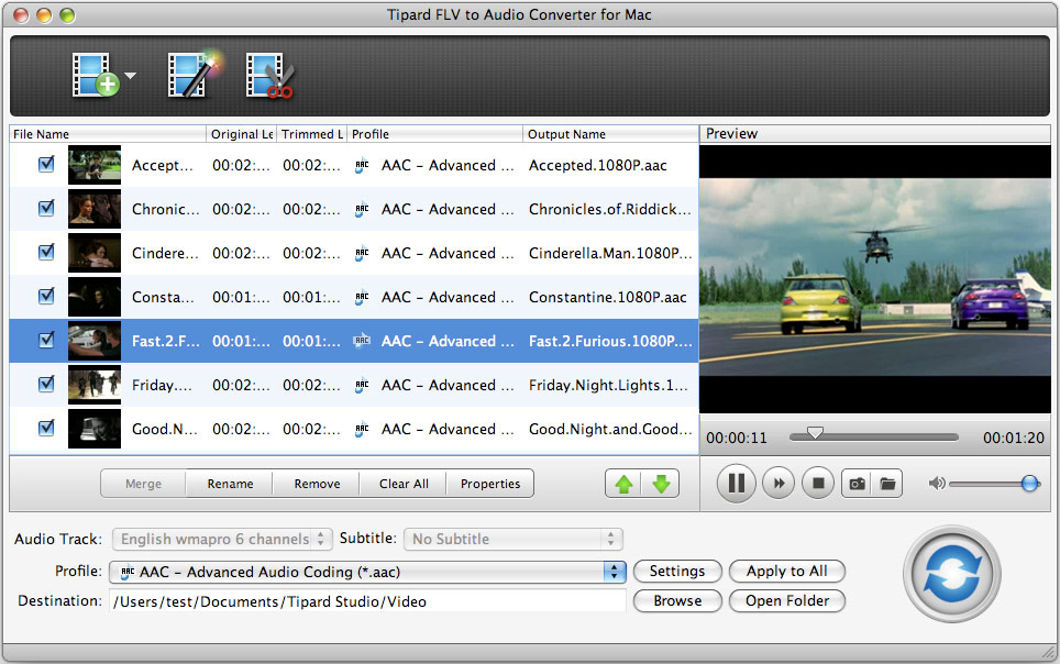 Tipard FLV Converter for Mac