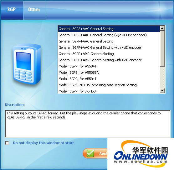 McFunSoft 3GP Video Converter