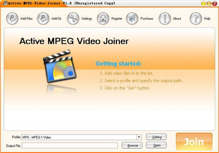 Active MPEG Video Joiner